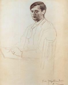 Pablo Picasso,Self-Portrait, 1917