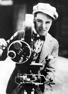 Such a beautiful, lovely man. Chaplin.