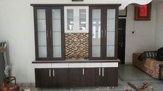 Kitchen Cabinets And Backsplash, Kitchen Units, Moduler Kitchen, Kitchen Design, Kitchen Storage, Tv Unit Furniture Design, Bed Furniture, Crockery Cabinet, Partition Design
