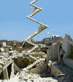 Aleppo , stair to heaven
