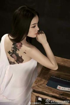 ❥●❥ ♥ ❤ ♥ ❥●❥ Asian Tattoos, Girl Tattoos, Geisha, Maou Sama, China Girl, Beautiful Girl Image, Fashion Gallery, Indian Beauty, Asian Woman