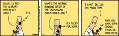The Dilbert Strip for February 19, 1990