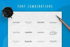 Colors Logo Creation Kit by Vladfedotovv on @creativemarket