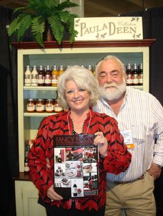 Interview with Paula Deen and her husband at the Winter Fancy Food Show 2007.