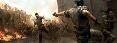 Striking WORLD WAR Z Concept Art and 3 New TVSpots
