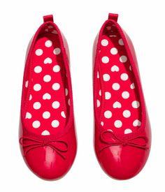 Red ballet flats | H&M US