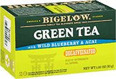 Wild Blueberry with Acai Herbal Tea from Bigelow. Find other delicious gluten free tea at bigelowtea.com.
