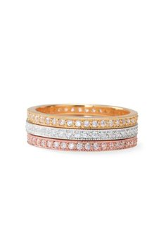 Shop our collection of fashion rings & stylish rings for women only at Stella & Dot. Find stackable rings, rose gold rings, cocktail rings, bands & more. Or Rose, Rose Gold, Jewelry Box, Jewelry Accessories, Jewlery, Jewelry Design, Eternity Bands, Diamond Are A Girls Best Friend, Fashion Rings