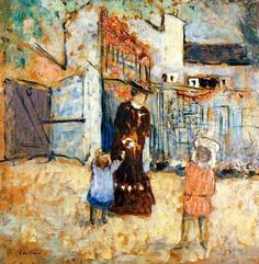 Madame Roussel and Her Children Edouard Vuillard - 1904