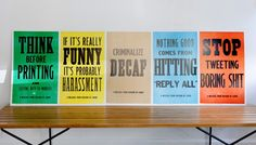 These should be put up in *all* offices...standard!