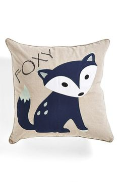 Levtex 'Foxy' Square Pillow available at #Nordstrom. I want!
