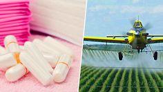A tamponok és a női higiéniai termékek 85%-a rákot okozó glifozát gyomirtó szerr