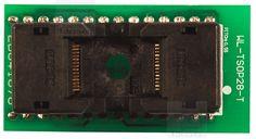 Adapter #TSOP28 (WL-TSOP28-U1). Układy dedykowane to na przykład :  28C64