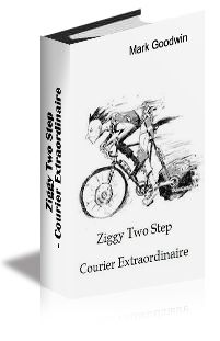 Ziggy Two Step - Courier Extraordinaire by Mark Goodwin Free Ebooks, Audio Books, Funny Stuff, Bicycle, Humor, Shit Happens, Reading, Funny Things, Bike