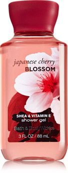 Japanese Cherry Blossom Travel Size Shower Gel - Signature Collection - Bath & Body Works