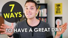 """How to Have a Good Day -- Subscribe on YouTube https://www.youtube.com/seanthinks Download my book, """"GET NOTICED!: How to Use Social Media to Grow Your Brand..."""