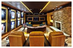 Man cave Mania: How to Design the Ultimate Safe Haven for a Sport Fan | HomeSource Blog #mancave #remodel #basement