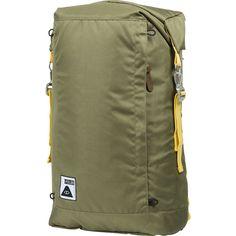 Poler Rolltop 2.0 Backpack | Mossy/Dandelion