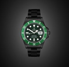 BLACK-OUT ROLEX SUBMARINER DATE LV by PROJECT X