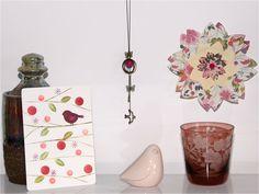 DIY : un sautoir printanier {Projet DIY} - Purple Jumble  DIY tuto bijoux collier sautoir necklace oiseau creation fait main handmade