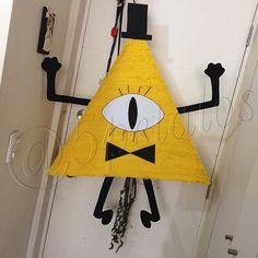 Piñata de Gravity Fall #fiestastematicas #decoracion #gavityfalls #Piñata