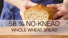 Super easy 58 % whole meal bread