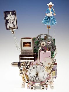 Fantasy clocks by Richard Birkett