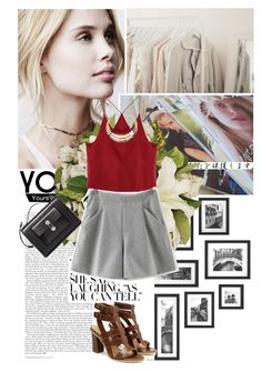 """""""Yoins.7"""" by flavia-hajna ❤ liked on Polyvore featuring Belle Fleur, Balenciaga and yoins"""