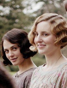 Lady Sybil & Lady Edith
