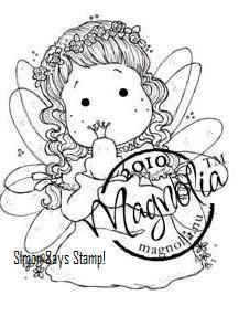 *Magnolia FAIRY TALE TILDA Rubber Stamp Fairytale 2010