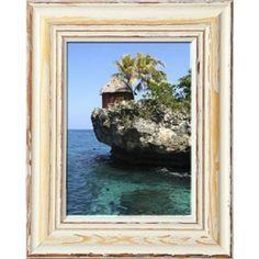 "Amazon.de: Echtholz Vintage Bilderrahmen ""Toskana"" im rustikalen Shabby Chic Look (weiss / braun) Rustikalen Shabby Chic, Frame, Painting, Vintage, Home Decor, Art, Tuscany, Farmhouse, Picture Frames"
