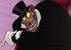 """Professor Padraic Ratigan is the arch-enemy of Basil of Baker Street and the main antagonist in Walt Disney's 1986 feature film The Great Mouse Detective. He is the story's version of Professor James Moriarty from Arthur Conan Doyle's Sherlock Holmes stories, and serves as the adversary to the Sherlock Holmes counterpart Basil of Baker Street. He has cited the """"Big Ben Caper"""" and the """"Tower Bridge Job"""" as two of his most notorious criminal operations."""