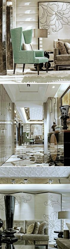 The Luxury Penthouse at China  Luxurious interior design ideas perfect for your projects. #interiors #design #homedecor www.covetlounge.net