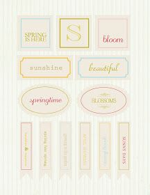 Whatever Dee-Dee wants, she's gonna get it: Spring Fling- Spring Printable