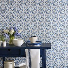 Shop - Candytuft | Annandale Wallpapers