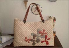 virágos táska