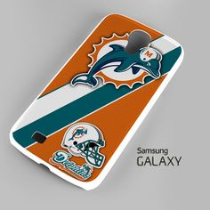Miami Dolphins Coral Aqua A0108 Samsung Galaxy S3 S4 S5 Note 3 Cases – firetsy