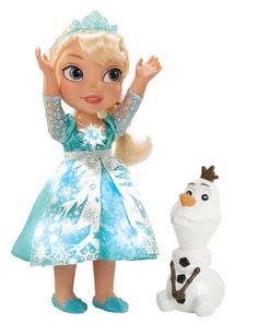Frozen Snow Glow Elsa Doll from frozen http://christmascrackered.co.uk/snow-glow-elsa-doll/
