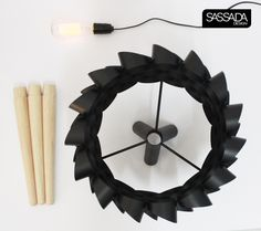 black pipe desk lamp by sassada design studio