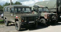 Polish Army Honker 2000 (left) and Honker 2324 hard top