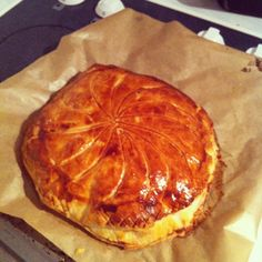 Galette des Rois. French tradition