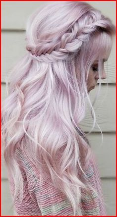 Pastel Lavande Cheveux Pastel Lavender Hair Related posts:The Beauty Of The Lilac Color In The Real LifeEndless, NamelessLavender dream wearing our lashes in Celestial. Pastel Lavender Hair, Pastel Hair Colors, Dyed Hair Pastel, Short Pastel Hair, Pastel Colored Hair, Short Lavender Hair, Coloured Braids, Long Pink Hair, Pastel Purple Hair