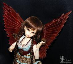 :: Crafty :: Doll :: Steampunk :: Steampunk leather wings   by Onyris