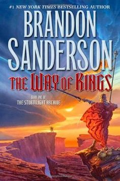 The Way of Kings (Stormlight Archive, book by Brandon Sanderson - this is one of those covers that you learn more and more about as the book progresses. The colors are amazing. This Is A Book, The Book, Book 1, Book Nerd, Best Fantasy Book Series, Fantasy Books, Fantasy Fiction, Elves Fantasy, Good Books