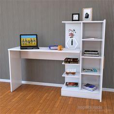 Laura Çalışma Masası Beyaz