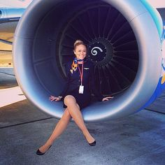 FEATURED FA: @kimmy_macbride w/ Sunwing Airlines! #flightattendant #sunwing #flightattendantsource