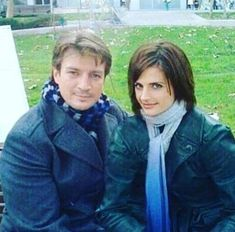(11) Twitter Castle Abc, Castle Tv Shows, Castle Beckett, Nathan Fillion, Stana Katic, Behind The Scenes, Handsome, Celebs, Actresses
