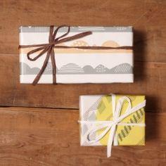 画像1: 水縞春夏秋冬 包装紙