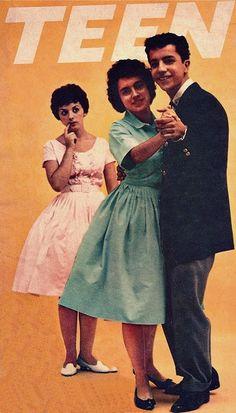 Kenny & Arlene - American Bandstand favorites - Teen magazine, 1959