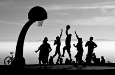 #Basketball photography #streetball.   This concept would be fun for a daily who lives to play sports together.
